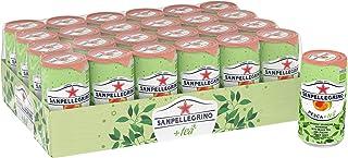 Sanpellegrino Sparkling Pesce (Peach) plus Tea, 24 x 250 ml