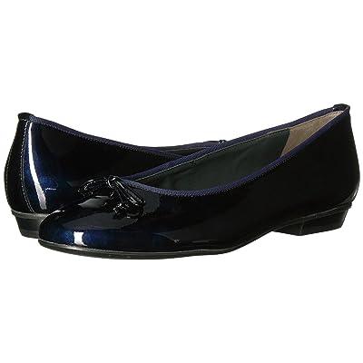 Paul Green Emile Ballet (Steel Blue Patent) Women