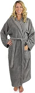 Terry Hooded Bathrobe Men Women, 100% Cotton, Made in Turkey