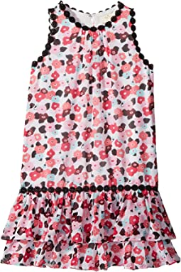Kate Spade New York Kids Blooming Floral Dress (Little Kids/Big Kids)