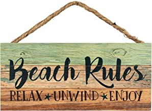 Best beach rules sign Reviews
