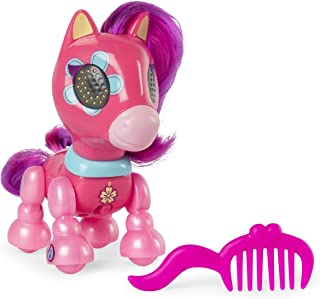 Zoomer Zupps Pretty Ponies, Dixie, Series 1 Interactive Pony with Lights, Sounds and Sensors