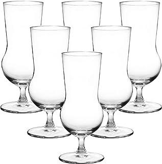 Ocean Cuba Hurricane Juice Glass, Pack of 6, Clear, 450 ml, 522H16