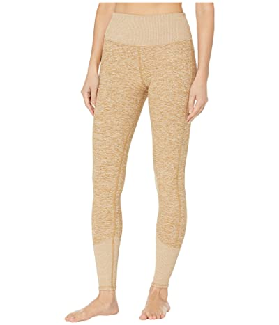 ALO High Waist Lounge Leggings (Caramel Heather) Women