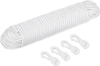 4 mm de Grosor 10 Metros Remi Tools Ltd R - Cuerda de Algod/ón para tendederos y poleas