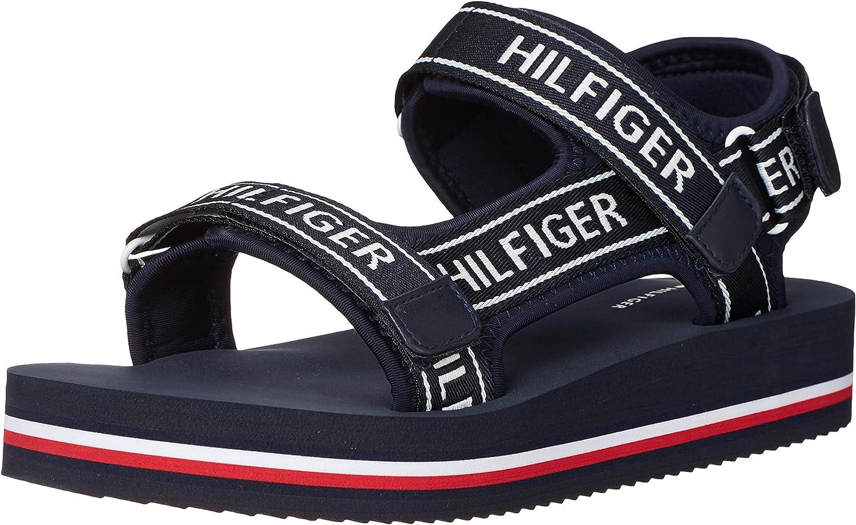 Tommy Hilfiger Women's Twnurii Flat Sandal
