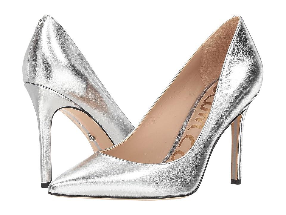 Sam Edelman Hazel (Soft Silver Metallic Distressed Leather) Women