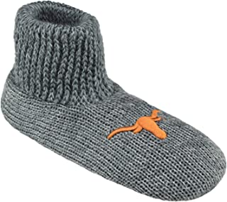 NCAA Ribbed Cuff Wool Blend Slipper Socks