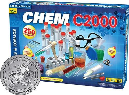 Thames & Kosmos 640125 Chemie-Set, blau