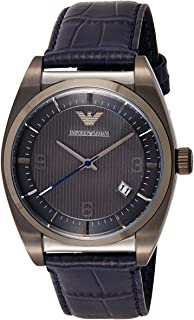 Emporio Armani Mens Quartz Watch, Chronograph Display and Leather Strap AR1649