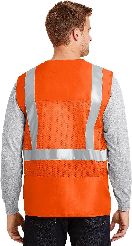 CornerStone Men's 107 Class 2 Mesh Back Safety Vest