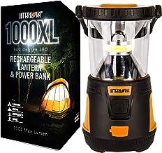 Internova Rechargeable Camping Lantern Power Bank -...