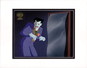 Batman The Animated Series Production Cel and Original Background Master Setup Warner Brothers 1993 8316