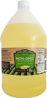 Healthy Harvest Non-GMO Gourmet Soybean Cooking Oil - Healthy Cooking Oil for Cooking, Baking, Frying & More - Naturally P...
