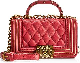 انوي  حقيبة يد صغيرة للنساء - احمر