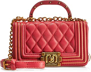 Inoui Womens Fashion Crossbody Bag Handbag, Color Red