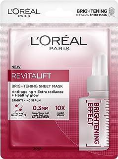 L'Oreal Paris L'Oréal Paris Revitalift Brightening Sheet Mask, 30g