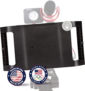 iOgrapher Filmmaking Case Video Rig for Apple IPad Mini 4 and Mini 5 with Lens Adapter, Tripod Mount and Stabilizer Grip - Made in USA Accessories Not Included