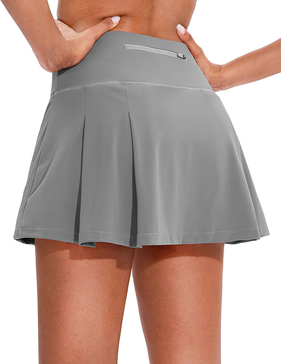 Soothfeel Pleated Max 65% OFF Tennis Skirt for Women's with Women Hi Pockets OFFicial store