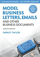 Best shirley taylor model business letters Reviews