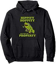 Hippity Hoppity Get Off My Property Hoodie   Funny Frog Meme