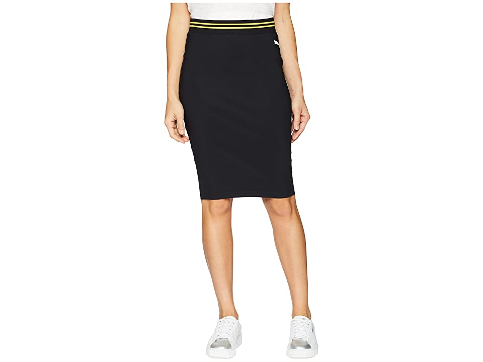 PUMA Varsity Pencil Skirt (PUMA Black) Women
