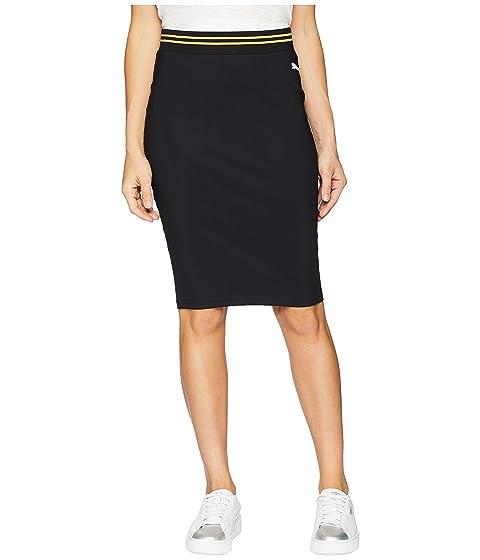 9a27154bb Puma Varsity Pencil Skirt, Black   ModeSens