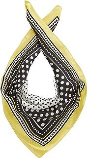 s.Oliver 201.10.101.25.276.2058811 Bufanda de moda, Aop amarillo claro, 1 para Mujer