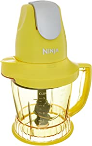 Ninja Storm Blender with 450 Watts Food & Drink Maker/Food Processor - QB751QY - (Certified Refurbished) (Yellow)