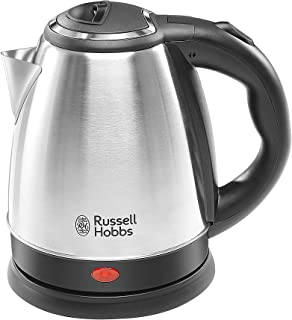 Russell Hobbs Automatic Stainless Steel Electric Kettle DOME1515 1500 watt - 1.5 Litre with 2 Year Manufacturer Warranty