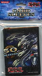 YuGiOh Konami Official Duelist Card Sleeves BlueEyes Ultimate Dragon 50 Count