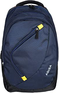ADISA BP010 Navy Blue Light Weight 35 Ltrs Casual Backpack