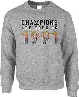 Birthday Jumper Champions are Born in 30th Sweatshirt