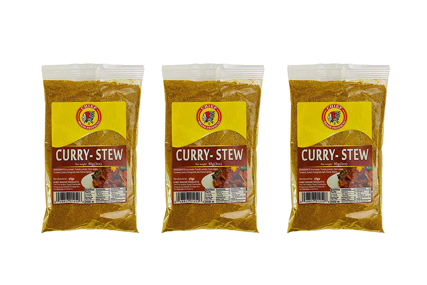 At the price CHIEF Curry Stew Powder - New mail order 3oz Pack of 3