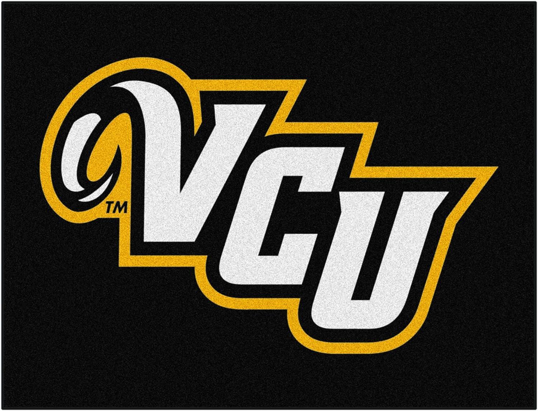 FANMATS NCAA Virginia Commonwealth Univ Rams Nylon Face AllStar Rug