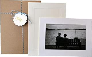 Classic Collection - 4x6 Photo Insert Note Cards - 24 Pack by Plymouth Cards