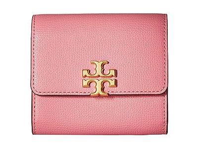 Tory Burch Kira Foldable Medium Wallet (Bubblegum) Wallet