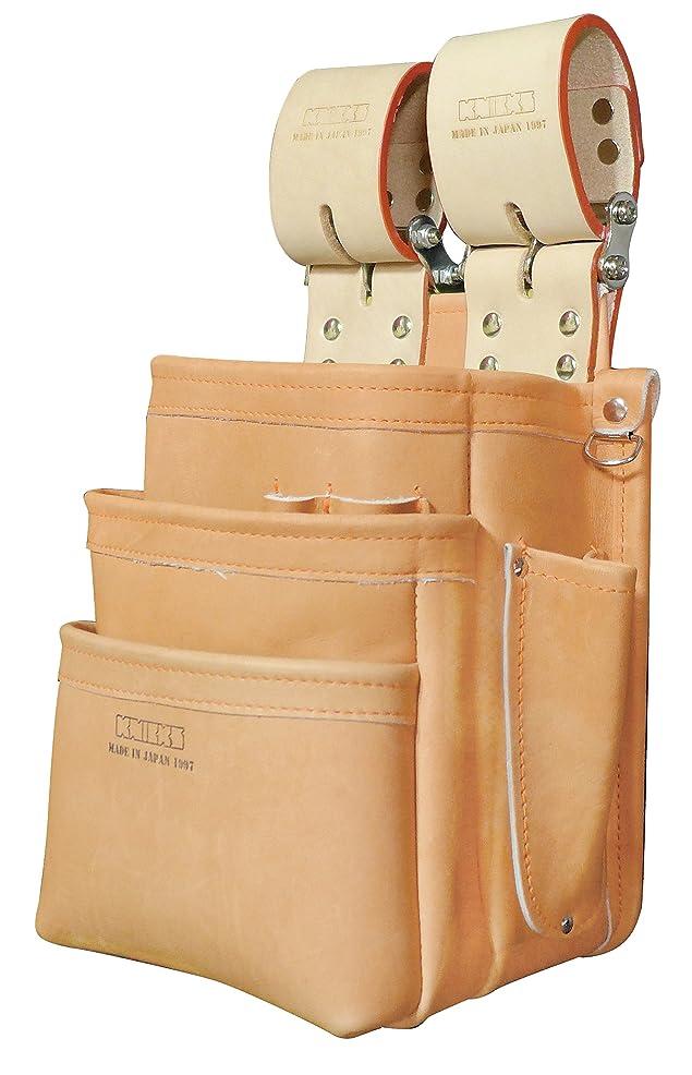 ばかげたグラス大いにKNICKS(ニックス) KN-301SPDX 自在型チェーンタイプ総グローブ革3段腰袋