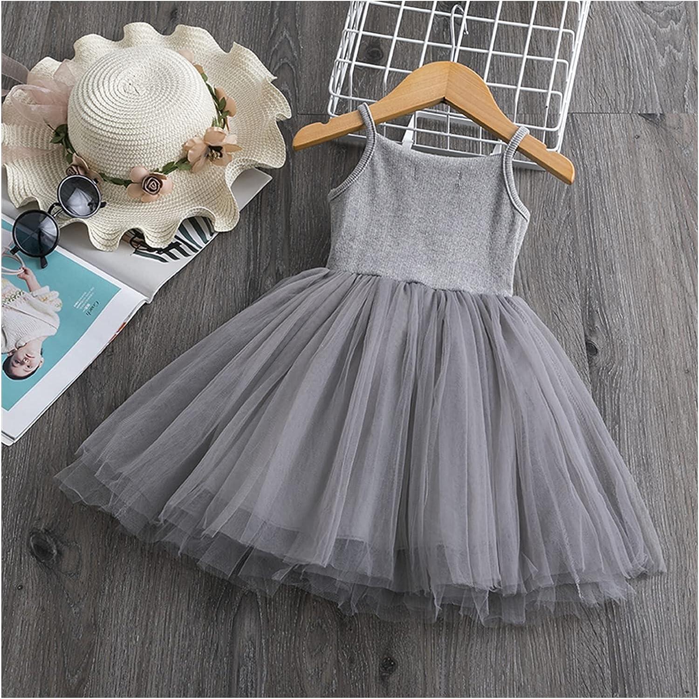 BIVJX Girls' Dresses Cute Girl Dress New Summer Girl Dress Fancy