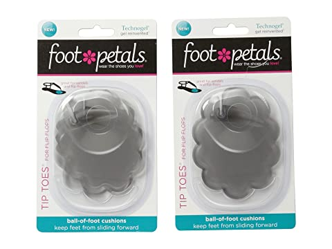 Foot Petals Technogel Tip Toes for Flip Flops K6mUI