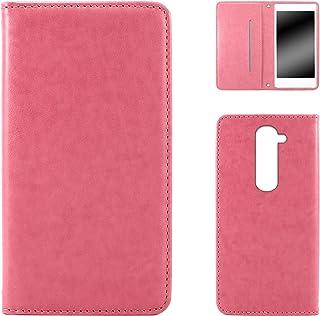 WHITENUTS LG G2 mini LG-D620J ケース 手帳型 スタイリッシュ ピンク TC-D0004181/M