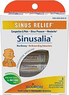 Boiron Sinusalia Sinus Relief Pellets - 2 Tubes/ Pack, 8 Pack