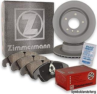 ZIMMERMANN Bremsscheiben Ø324mm + ZIMMERMANN Bremsbeläge vorne Bremsenkit Komplettset
