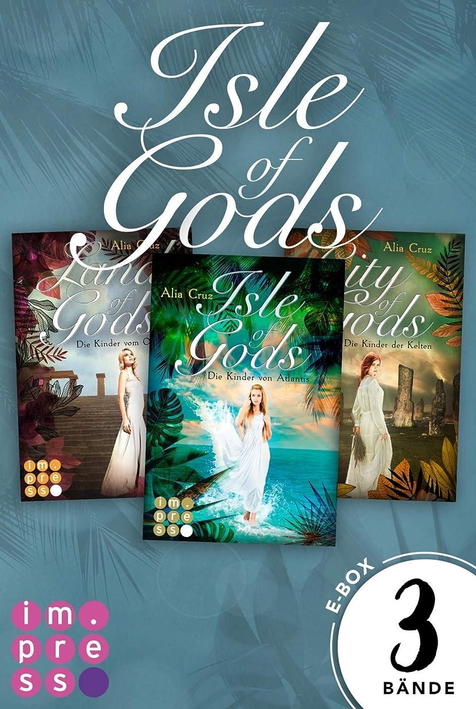 付与独特の修羅場Gods: Alle B?nde der g?ttlich-romantischen Reihe in einer E-Box! (German Edition)