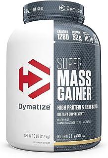 Dymatize Super Mass Gainer Protein Powder, 1280 Calories & 52g Protein, Gain Strength..