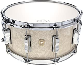 Ludwig 6.5x14 Classic Maple Snare Drum Vintage White Marine