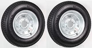 eCustomRim 2-Pk Eco Trailer Tire & Rim ST175/80D13 13