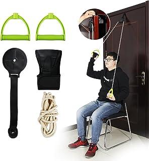 comprar comparacion REAQER Cuerda para rehabilitación de Hombro Hombro Polea Ideal para Ejercicio y Prevención de Lesiones