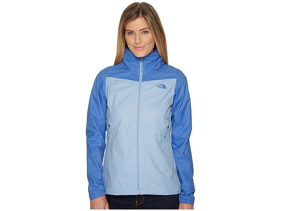 The North Face Resolve Plus Jacket (Collar Blue/Stellar Blue) Women