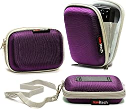 Navitech Purple Water Resistant Hard Digital Camera Case Cover Compatible With The Kodak Pixpro FZ43